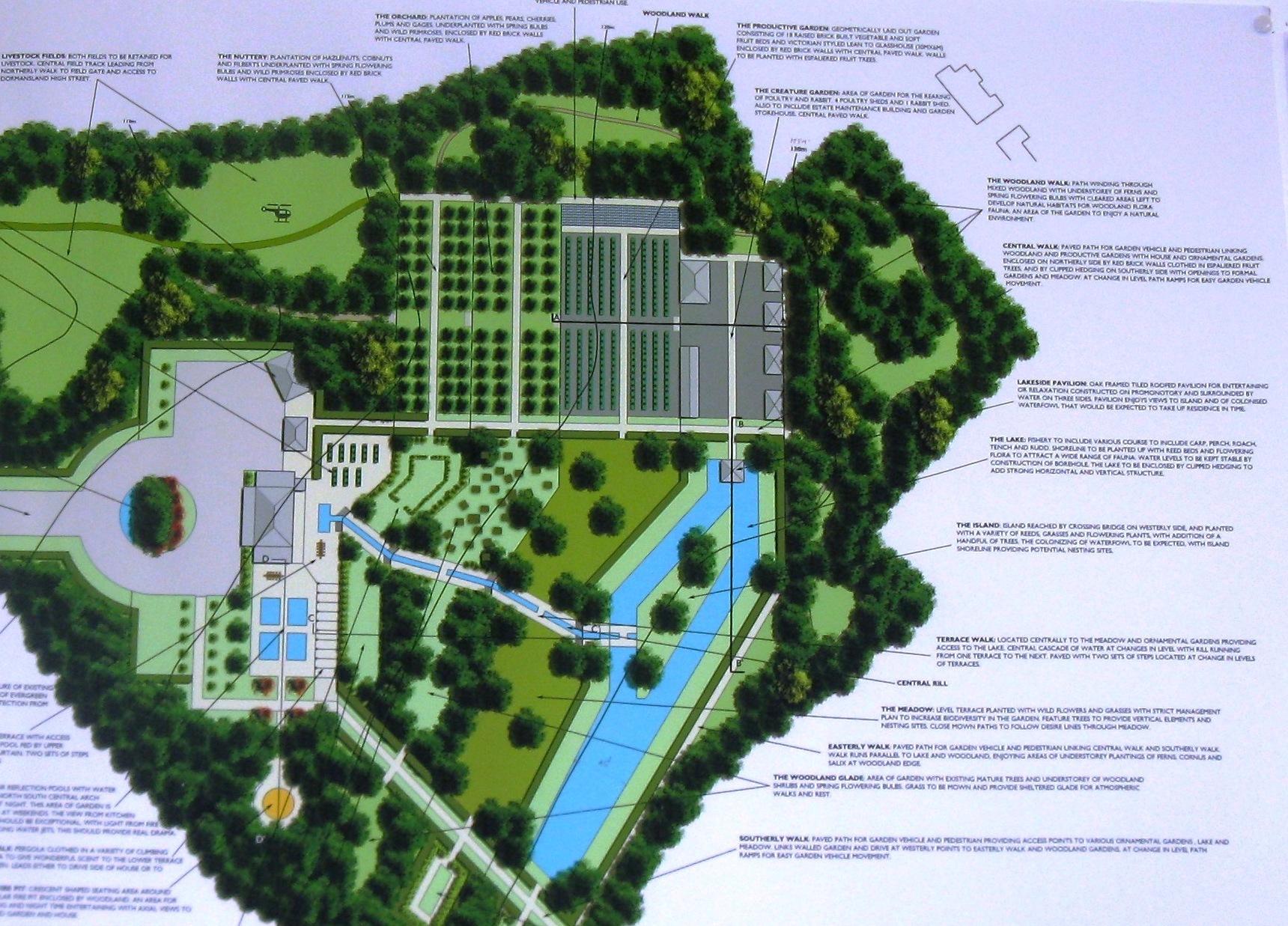 university of greenwich at hadlow | terrain