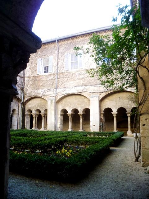 san remy cloisters portrait