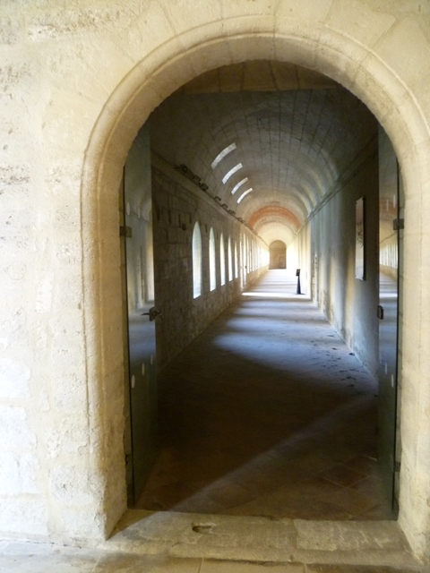 corridor with rooms