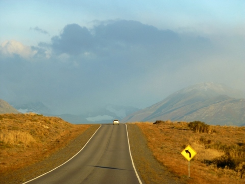 1road out of el calafate