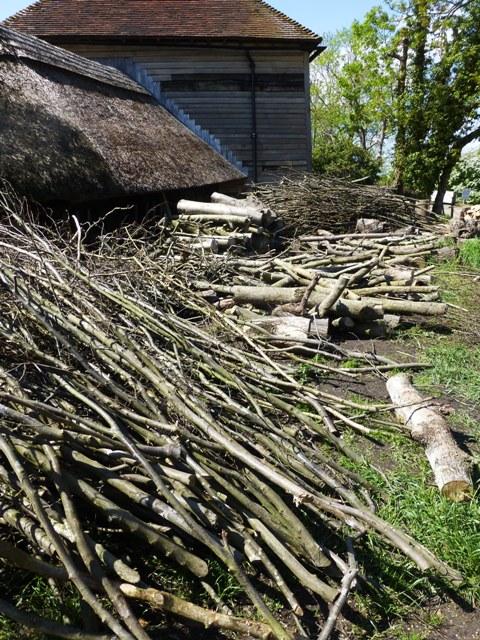 6 wood heaps