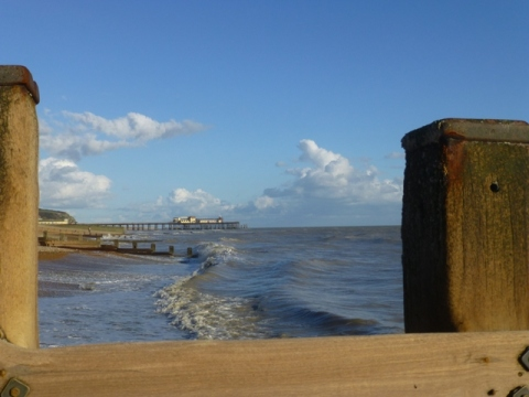 the burnt out pier