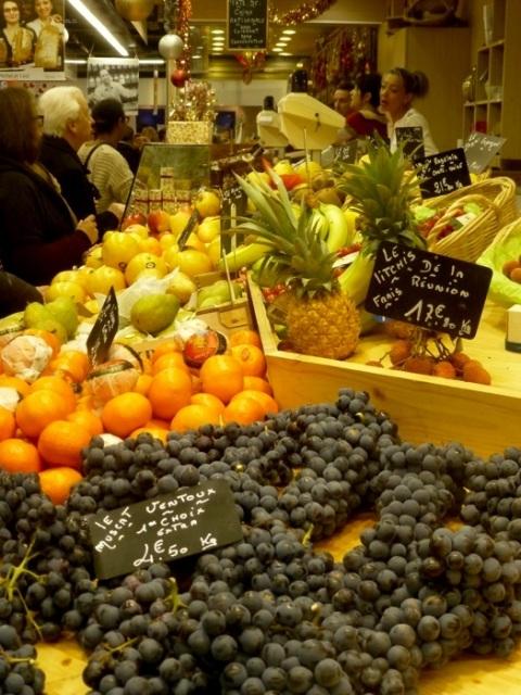 les halles fruits