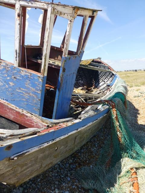 deserted boat 2