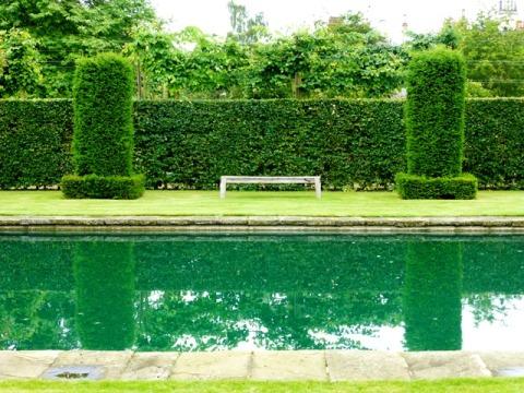 silent garden recatngular pond7