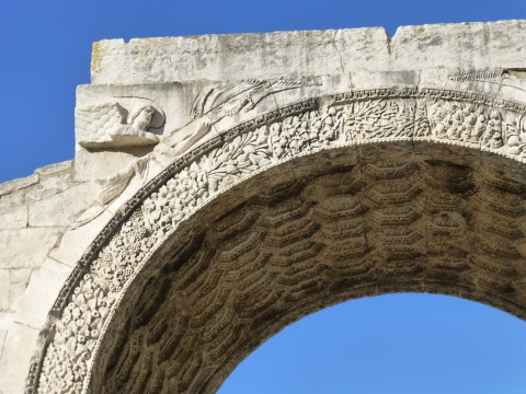 glanum arch detail